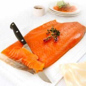 rotary smoked salmon