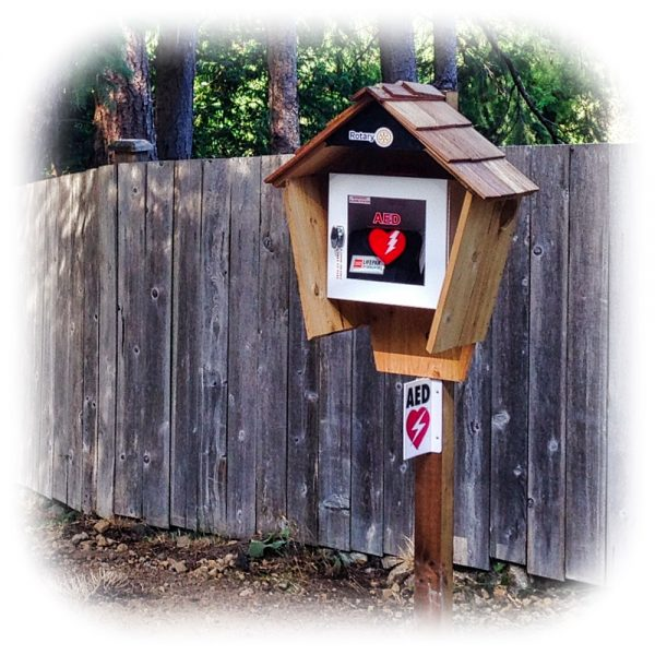 """Birdhouse"" Bowen Rotary neighbourhood AED"