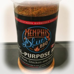 memphis blues all purpose bbq rum seasoning